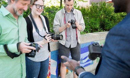 Basic or Intermediate Photography Classes for One or Two People at STM Photograph (Up to 67% Off)