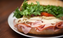 Breakfast, Subs, and Sandwiches at Woodings Beach Deli (Half Off). Two Options Available.
