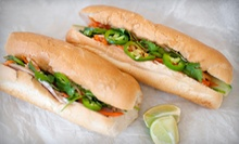 French-Vietnamese Food for Two or Four at Bon Mi (Up to 53% Off)
