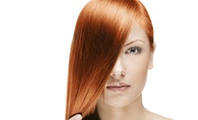 Haircut and Conditioning or Choice of All-Over Color or Partial Foil Package at Bounce Salon (Up to 68% Off)