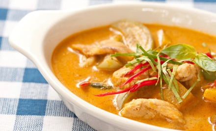 $10 for $20 Worth of Thai Cuisine for Dinner at Thai Kitchen 