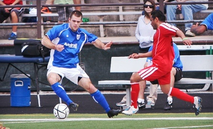 $15 for Season Tickets to See the AFC Cleveland Soccer Club at Krenzler Field ($30 Value)