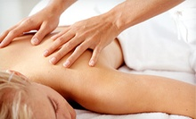 One or Two 60-Minute Custom Massages at East of Eden Emporium (Up to 51% Off)