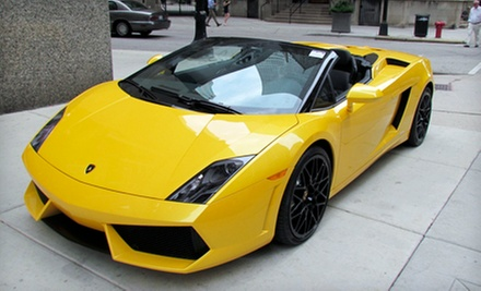 Two- or Three-Hour Exotic-Car Rental from Auto Exotic Rental (Up to 74% Off)