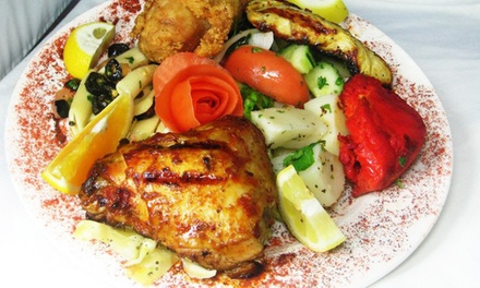 Mediterranean Buffet for Two or Four at Dimassi's Mediterranean Buffet (50% Off)