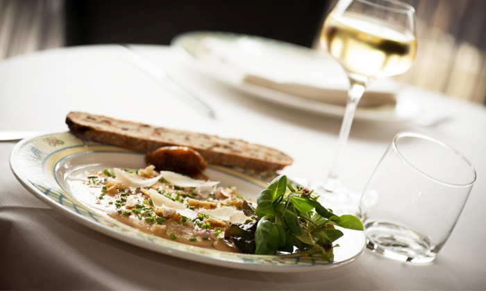 Auberge du Pont de Bry - Bry sur Marne: Déjeuner en 3 mets ou dîner en 4 mets pour 2 convives dès 65 € à l'Auberge du Pont de Bry