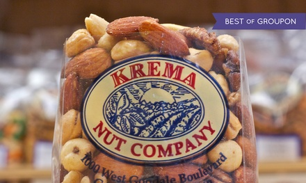 $11 for $20 Worth of Nuts and Snacks at Krema Nut Company
