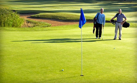 18-Hole Round with a Cart Rental for One or Four at The River Golf and Country Club (Up to 58% Off)
