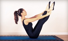 8 or 12 Pilates Mat, Fitness, Yoga, and Barre Classes at Exhale! Pilates & Yoga (Up to 75% Off)