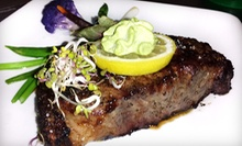 Four-Course Prix Fixe Steak Dinner for Two, Four, or Six at Charivari Restaurant (Up to 55% Off)