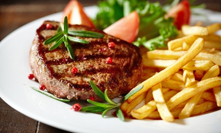 Steak Meal for Two or Four at Mendy's Restaurant (Up to 51% Off)