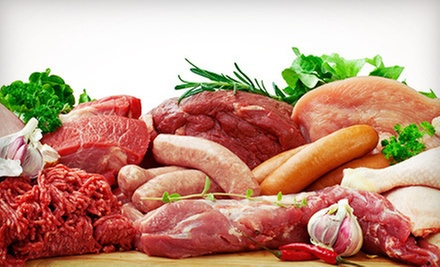 $15 for $30 Worth of Specialty Meat, Chicken, and Fish at Orangevale Meat &amp; Sausages 
