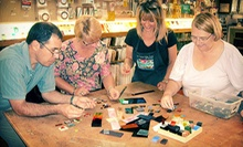 One-Hour Fused Dichroic Glass Pendant Class for One or Two at The Stained Glass Studio of Clearwater (Up to 53% Off)