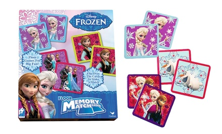 Frozen Memory-Match Floor Game
