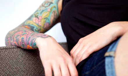 Up to Two Hours of Tattooing at Diamond Body Art (51% Off)