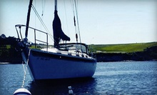 $199 for a Full-Day Custom Sailing Trip for Two to Angel Island from Imagine Sailing Tours ($400 Value)