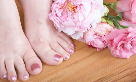 $29 for an Herbal Pedicure with Paraffin Wax Hand Treatment at City Nails and Spa ($61 Value)