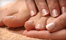 No-Chip Manicure or Pedicure from Nails by Lindsey at Crimson Salon (Up to 56% Off)