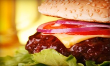 Burgers, Sandwiches, and Desserts at Three Meat Burger. Two Options Available.