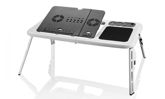 Mesa para computador portátil E-table por 14,90€ ou duas por 24,90€