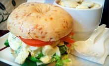 $8 for $16 Worth of Bagels, Sandwiches, and Wraps at Nancy's Bagel Grounds