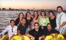 $350 for a Three-Hour, Private Evening BYOB Cruise for Up to 14 from Shore Water Sports ($600 Value)
