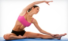 10 or 5 Classes or One Month of Unlimited Classes at Balance Yoga Studio (Up to 58% Off)