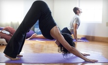 $29 for One Month of Unlimited Yoga Classes at Savannah Yoga Room ($85 Value)