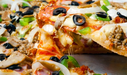$12 for $20 Worth of Pizza at Boston Style Pizza