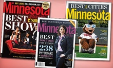 "$10 for a Two-Year Subscription to ""Minnesota Monthly"" (Up to a $26.95 Value)"