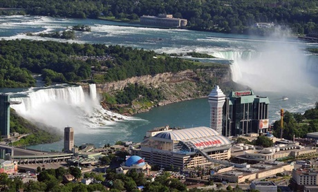 One-Night Stay with Dining Credit and Winery Tour at Crowne Plaza Niagara Falls in Ontario; Check In Sunday–Thursday