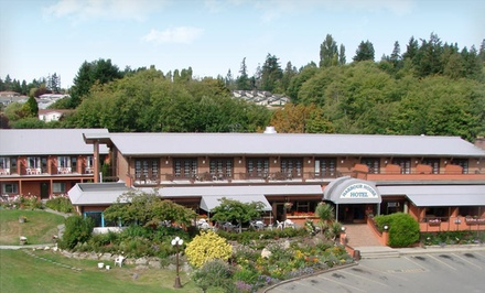 groupon daily deal - 2-Night Stay with Breakfast Voucher at Harbour House Hotel on Salt Spring Island, BC, Valid for Check-in Sun–Wed.