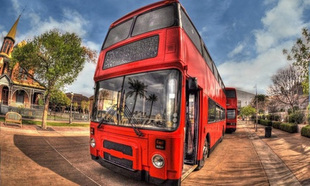 Pub Crawl, Treasure Hunt, or Night Hunt for One or Two from Real London Bus Company (Up to 55% Off)