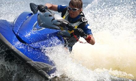 חבילת ספורט ימי בפלמינגו נועה ביץ' הכוללת אופנוע ים, בננה, סירת פדלים וקיאקים! 120 ₪ ליחיד, 170 ₪ לזוג או 335 ₪ לרביעייה