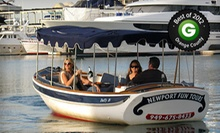 $67 for 90-Minute Electric-Boat Rental from Newport Fun Tours ($135 Value)