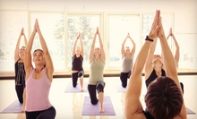 5 or 10 AGX Fire Hot Yoga Classes at Adrenaline GX (Up to 81% Off)