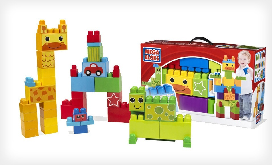 Groupon - Mega Bloks Build Big! Deluxe Creation Box - $7.99