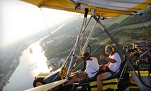 30-Minute Powered Hang-Gliding Discovery Flight with Video for One or Two from Amphibian Air (Up to 61% Off)