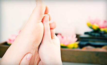 30- or 60-Minute Reflexology Foot Massage at Stolen Moments Spa (Half Off)