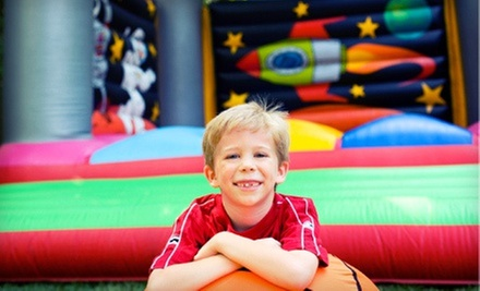5 or 10 Indoor-Bounce-House Visits to Jump-N-Jive (Up to 51% Off)