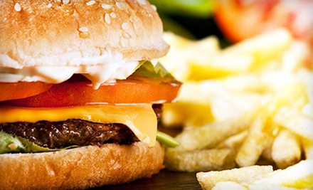 $5 for $10 Worth of Burgers and Other American Food at Burger Bank