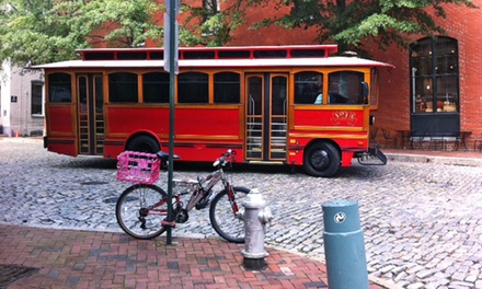 Historic City Trolley Tour for One, Two, or Four from RVA Historic Tours (Up to 53% Off)