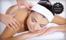 Swedish Massage or Spa Package with Body Polish, Massage, and Tub Soak at Spa de la Vie (Up to 56% Off)
