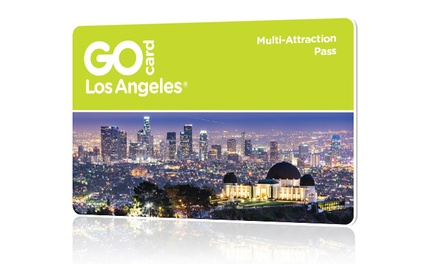 Two-Day All-Inclusive Go Los Angeles Card Including Free Admission to 30+ Popular Los Angeles Attractions