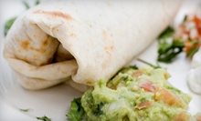 Mexican Meal for Two or Four at Baja Jacks Burrito Shack (52% Off)