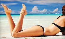 One or Three Custom Airbrush Tans at Sammy's Salon, Spa, and Tanning (Up to 53% Off)