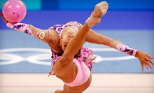 5 or 10 Drop-In Rhythmic-Gymnastics, Dance, or Fitness Classes at Queens Gymnastics (Up to 71% Off)
