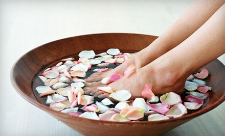 One or Three Platinum Spa Pedicures with Paraffin Treatments at Salon Mode' & Daydreams Spa (Up to 55% Off)