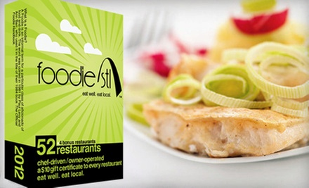 $20 for a Deck of 53 Gift Cards to Local Restaurants from Foodie STL ($43 Value)
