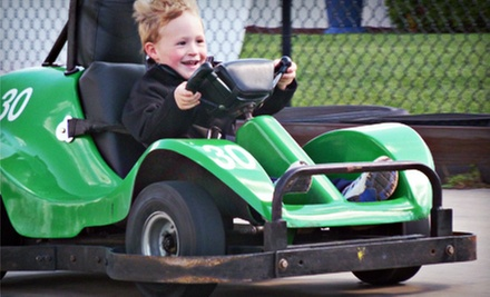 $10 for $20 Worth of Go-Karts, Bumper Boats, and Mini Golf at AJ's Family Fun Center
